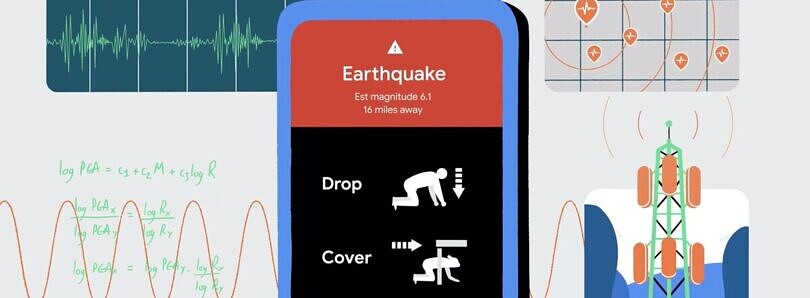 Google is turning your Android phone into an early earthquake alert system
