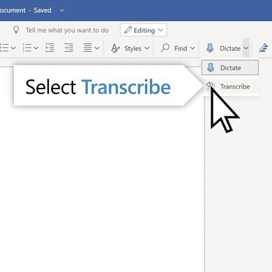 Microsoft Word on the web adds a speech transcription feature for Microsoft 365 subscribers