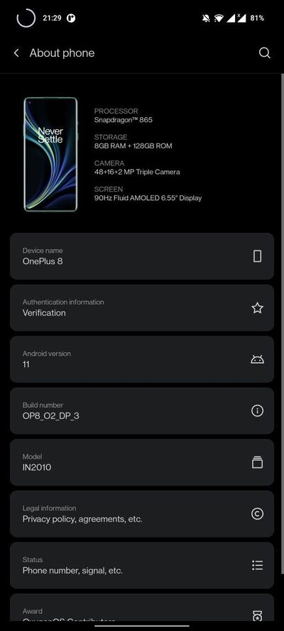 oneplus_8_oxygenos_11_android_11_dp3