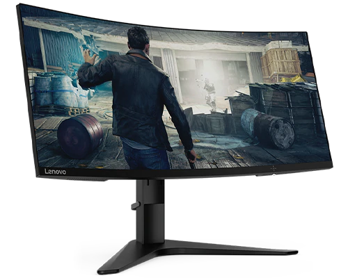 Lenovo G34w-10 34 Inch WLED Ultra-Wide Curved Gaming Monitor