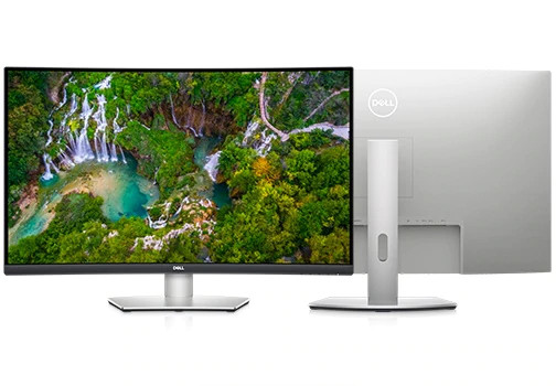 32 inch Dell S3221QS Curved Monitor