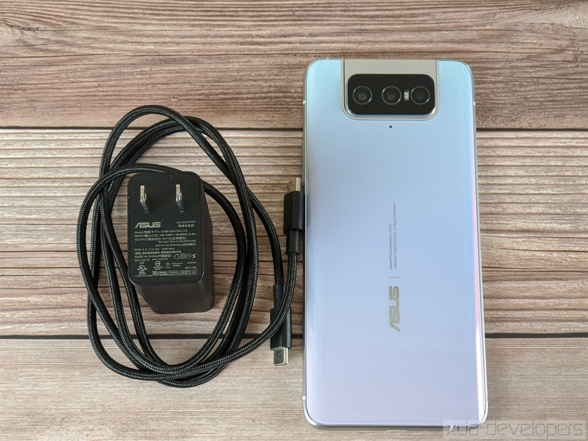 ASUS ZenFone 7 Pro USB-PD PPS 3.0 review