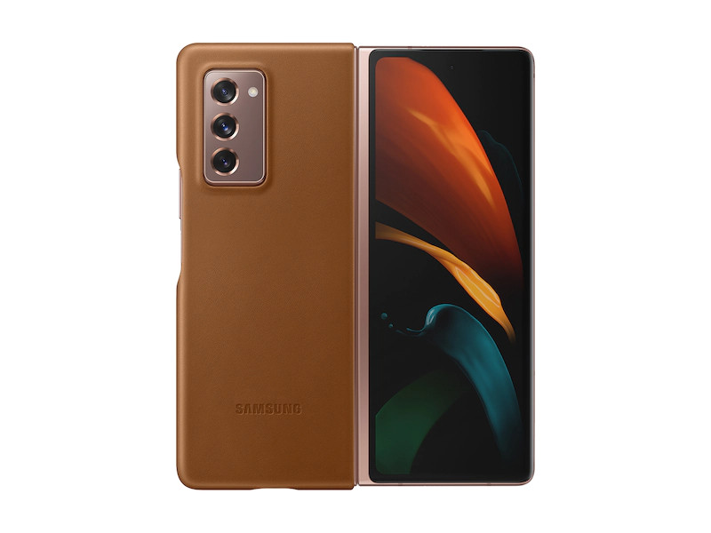 Galaxy Z Fold 2 5G Leather Cover