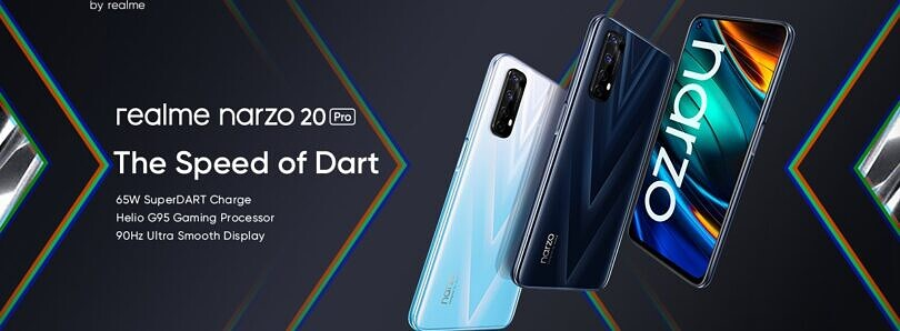 Realme Narzo 20, Narzo 20 Pro, and Narzo 20A launched in India
