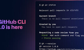 GitHub launches its command line interface, GitHub CLI, for Windows, macOS, and Linux