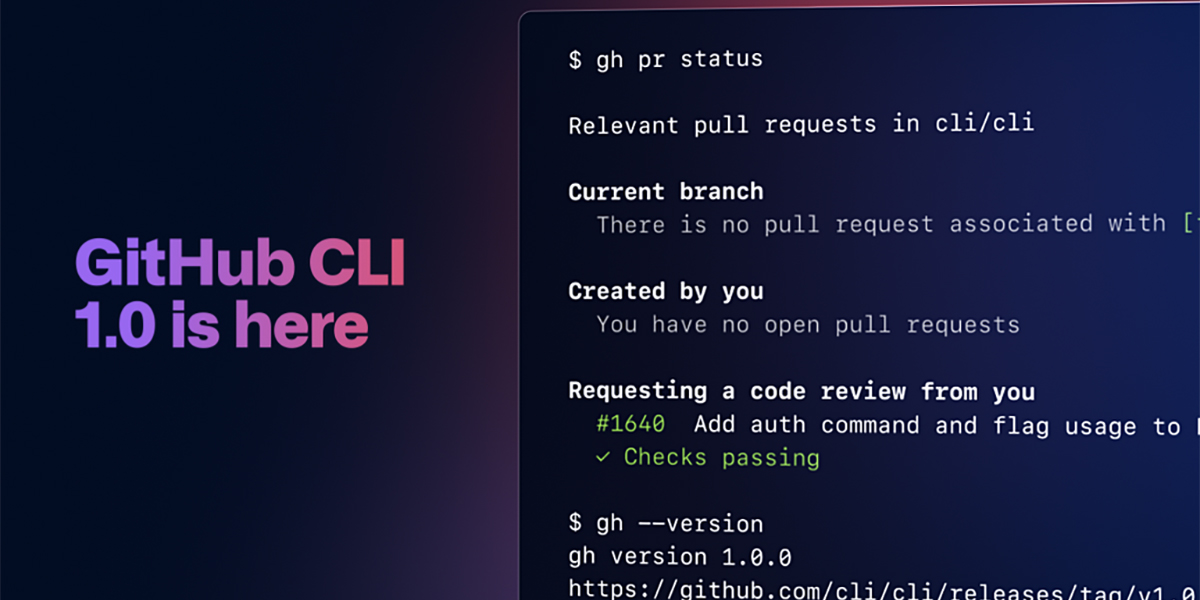 GitHub launches its command line interface, GitHub CLI, for Windows, macOS, and Linux - RapidAPI
