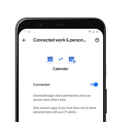 Google Calendar adds cross-profile work and personal account support