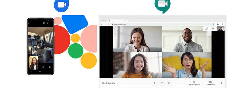 You can now share your screen in Google Duo and blur backgrounds in Google Meet