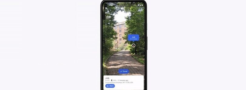 You can now use Live View with Location Sharing in Google Maps, starting with Pixel phones on Android 11