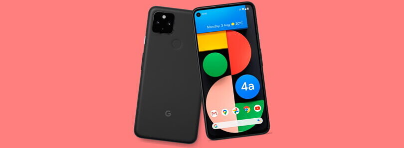 Save $90 on the Google Pixel 4a 5G at Best Buy by activating today!