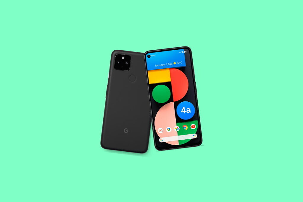 An image featuring Pixel 4a 5G which supports Google Fi