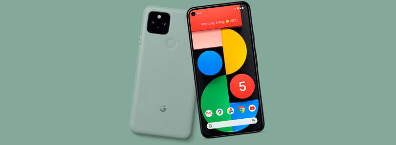 Here's our first look at the Google Pixel 5 in Green