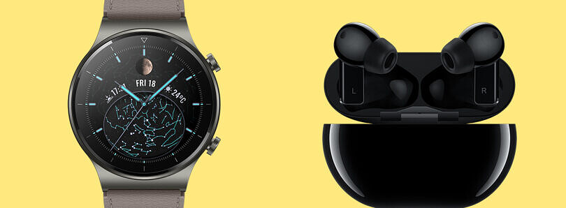 Huawei unveils Watch GT 2 Pro smartwatch with wireless charging and FreeBuds Pro TWS earbuds with ANC