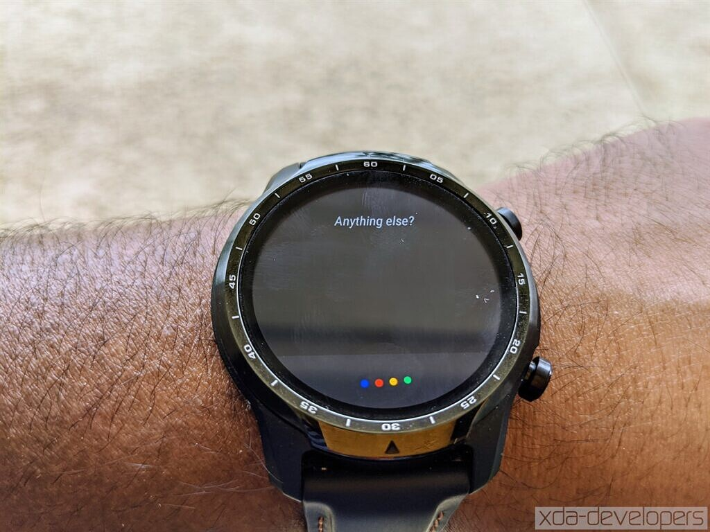 Google Assistant on the Mobvoi TicWatch Pro 3