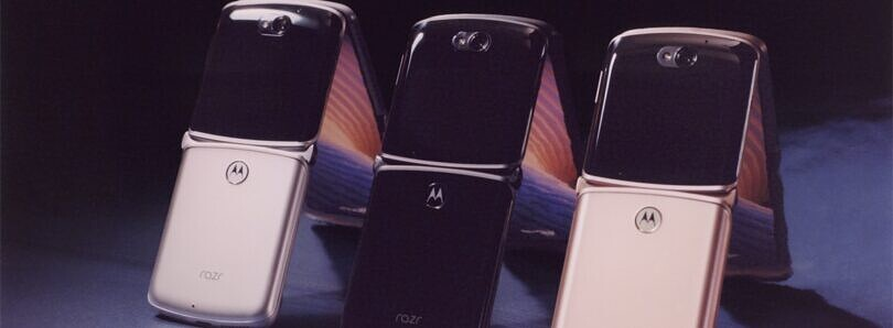 Motorola announces a new foldable Razr smartphone with 5G and better cameras