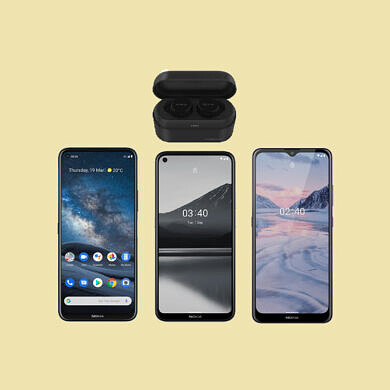 HMD Global launches the Nokia 8.3 5G, Nokia 3.4, Nokia 2.4, and a bunch of new accessories