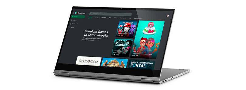 Google adds a Premium gaming section on the Play Store for Chromebooks