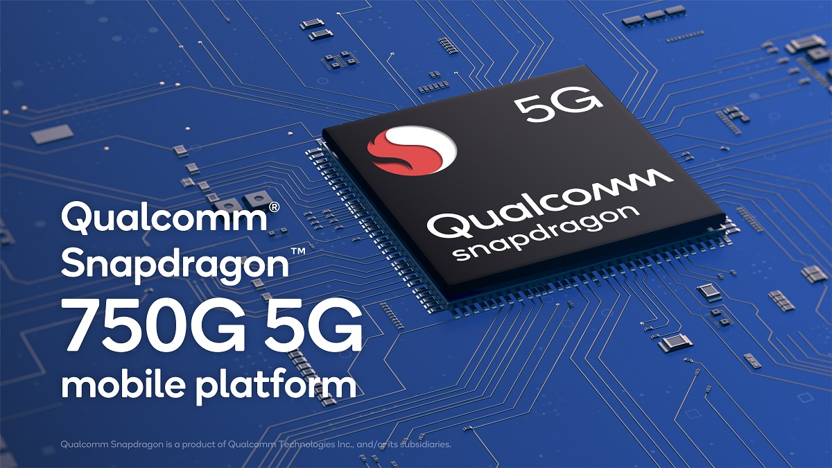 Qualcomm announces the Snapdragon 750G with the Snapdragon X52 5G modem
