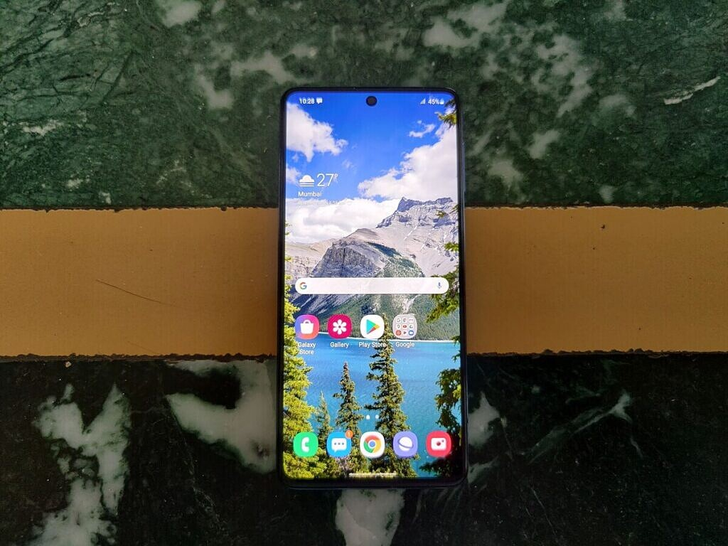 Samsung Galaxy M51 display