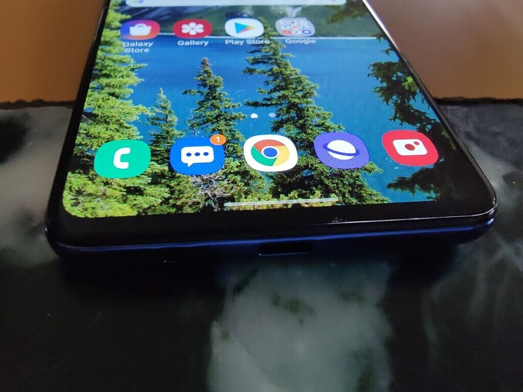Samsung Galaxy M51 display angle