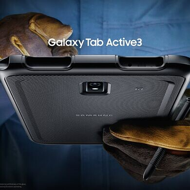 Samsung Galaxy Tab Active 3 is Samsung's latest ruggedized tablet with MIL-STD-810H certification