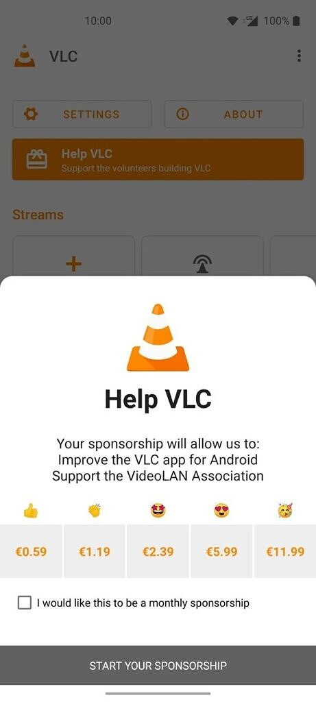 VLC 3.3 Android