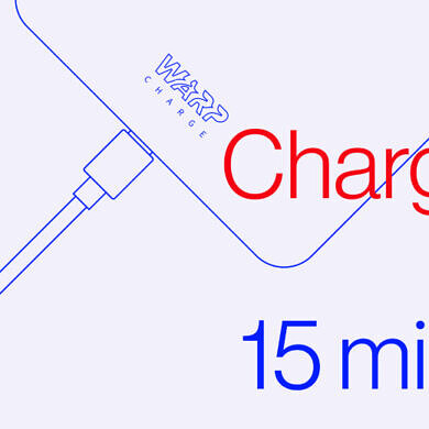 The OnePlus 8T's 4500mAh battery takes 35 minutes to charge with Warp Charge 65