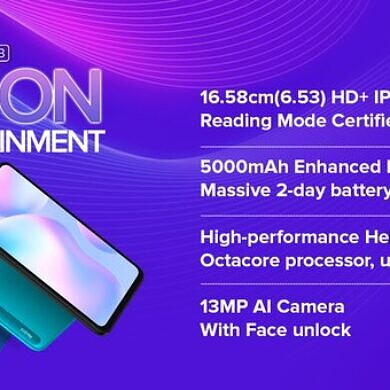 Redmi 9i launched in India, is a Redmi 9A with 4GB RAM and 64GB/128GB storage