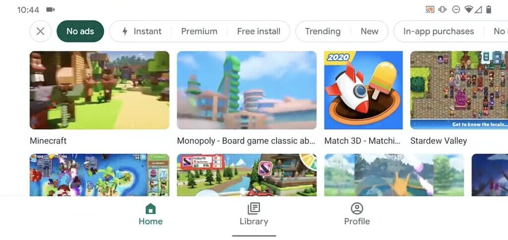 Google Play Games Now Helps You Find Games Without Ads Or Iaps