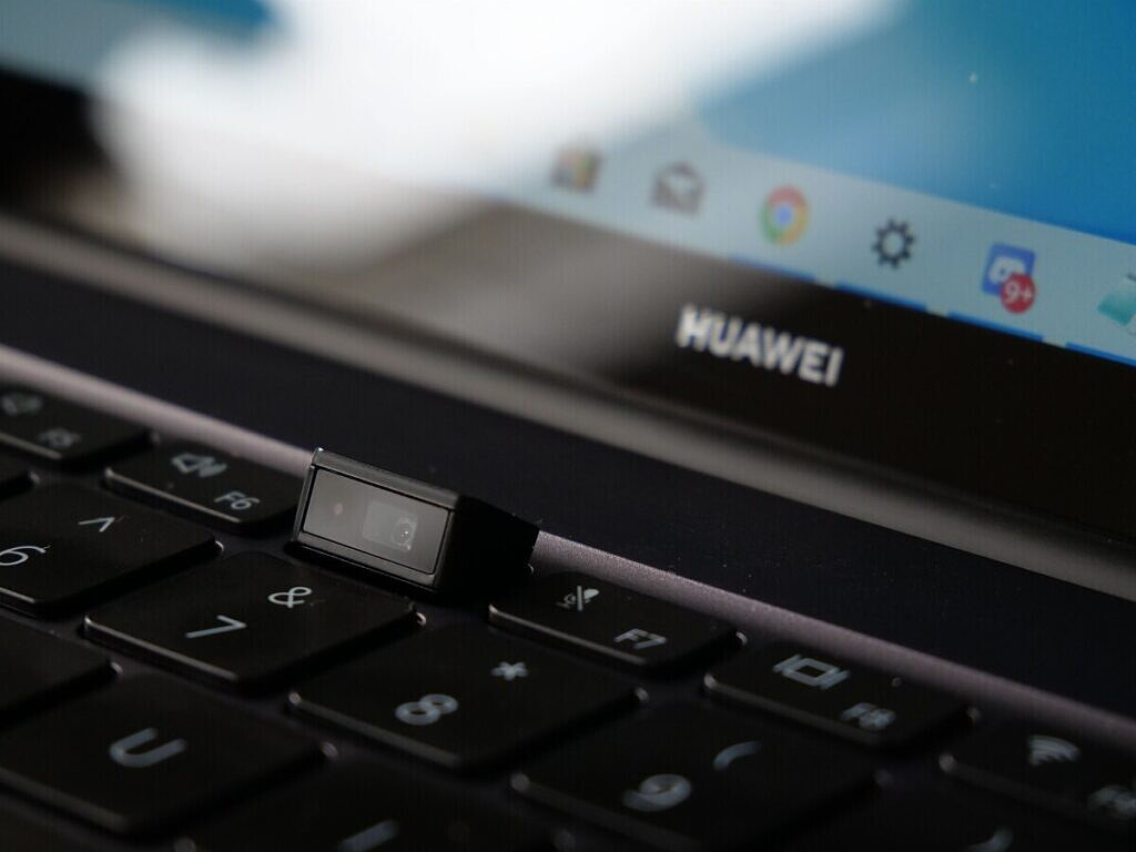 The webcam built into the Huawei MateBook 14