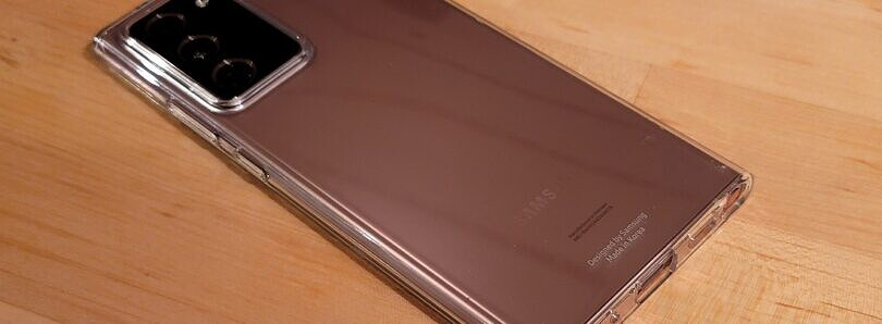"Samsung Galaxy Note 20 Ultra ""Clear Cover"" TPU Case Review"