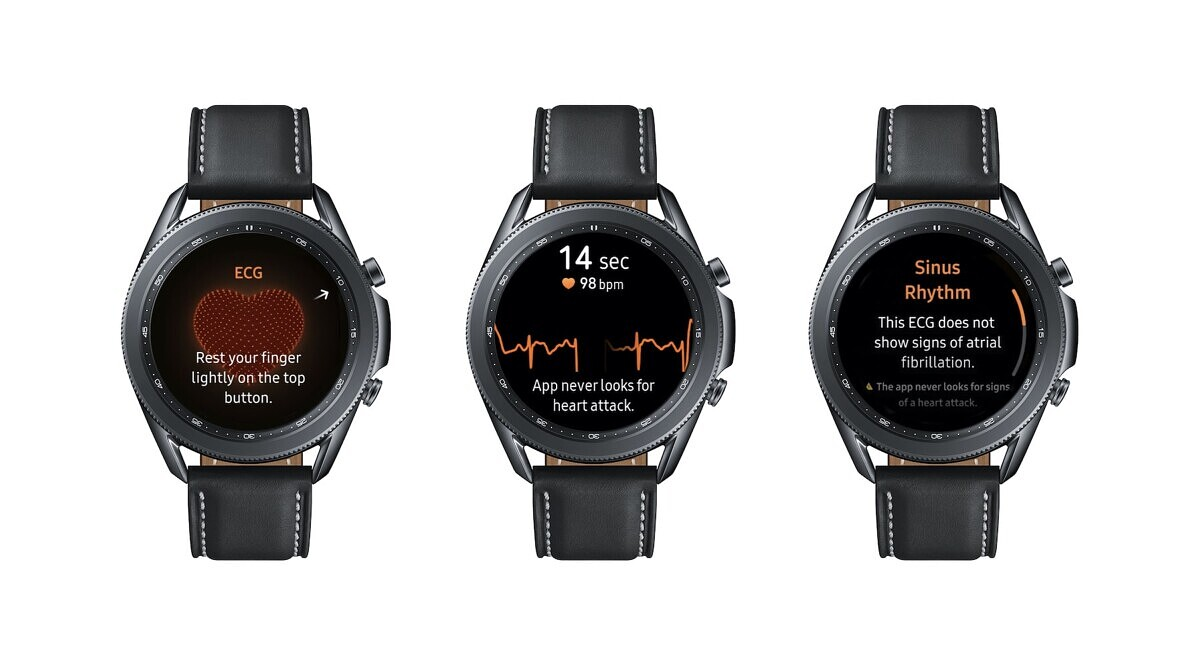How to enable ECG on the Samsung Galaxy Watch 3, Watch Active 2 paired with non-Samsung phones