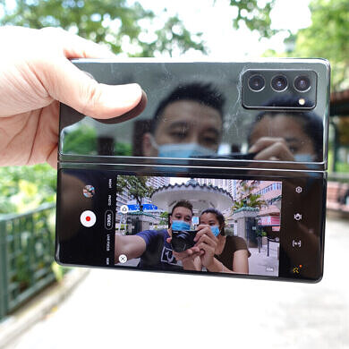 Galaxy Z Fold 2 Ongoing Review Day 3: Testing out the 5 cameras and video recording