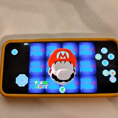 Super Mario 64 can be natively run on Android without a Nintendo 64 emulator