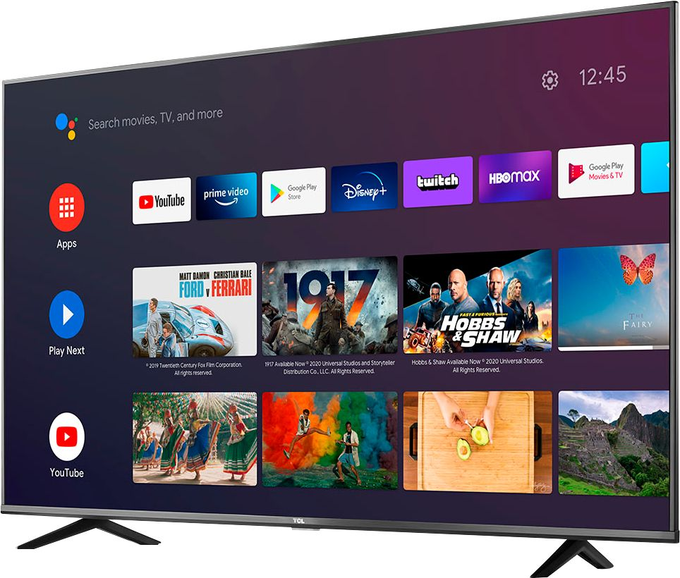 TCL 50-inch 4K UHD Smart Android TV