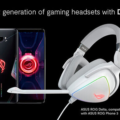 The ASUS ROG Phone 3 now supports a special gaming mode audio profile with select ROG headsets