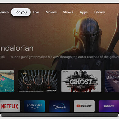 Google is putting autoplaying video ads on the Google TV home screen
