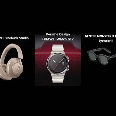 Huawei announces the Porsche Design Watch GT 2, FreeBuds Studio headphones, and EyeWear II smart glasses