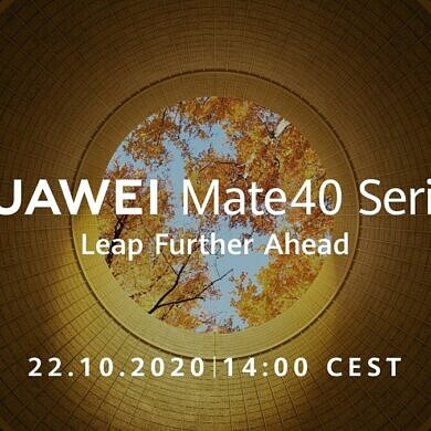 The Huawei Mate 40 series is launching on October 22