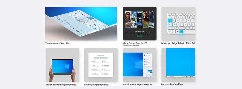 Microsoft rolls out the Windows 10 20H2 update with a new start menu design