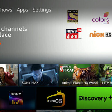 Amazon Fire TV gets Live TV support in India through SonyLIV, Voot, Discovery+, NextG TV