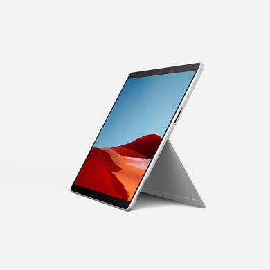 Microsoft refreshes the Surface Pro X with the Microsoft SQ2 processor based on Qualcomm's Snapdragon 8cx Gen 2