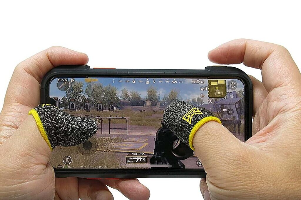 mobile gaming corp clawsocks finger sleeves