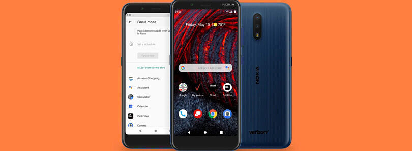 Nokia 2 V Tella is an $89 budget phone for Verizon with the MediaTek Helio A22 SoC