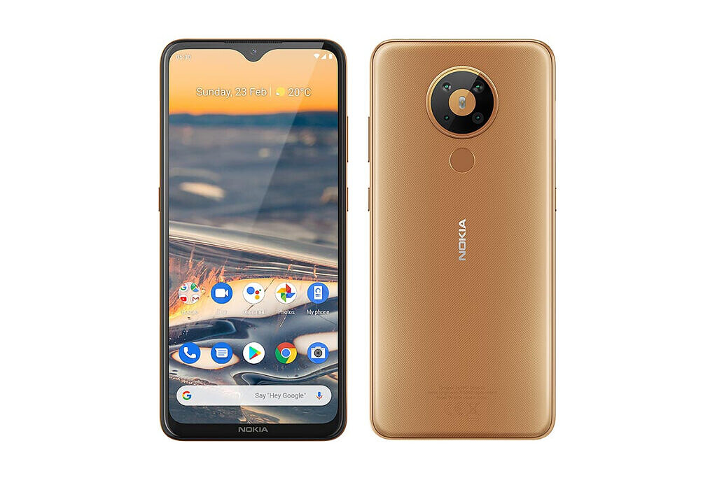 Nokia 5.3 front and back