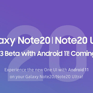 Samsung is recruiting beta testers in the U.S. for the Galaxy Note 20's One UI 3.0 (Android 11) update