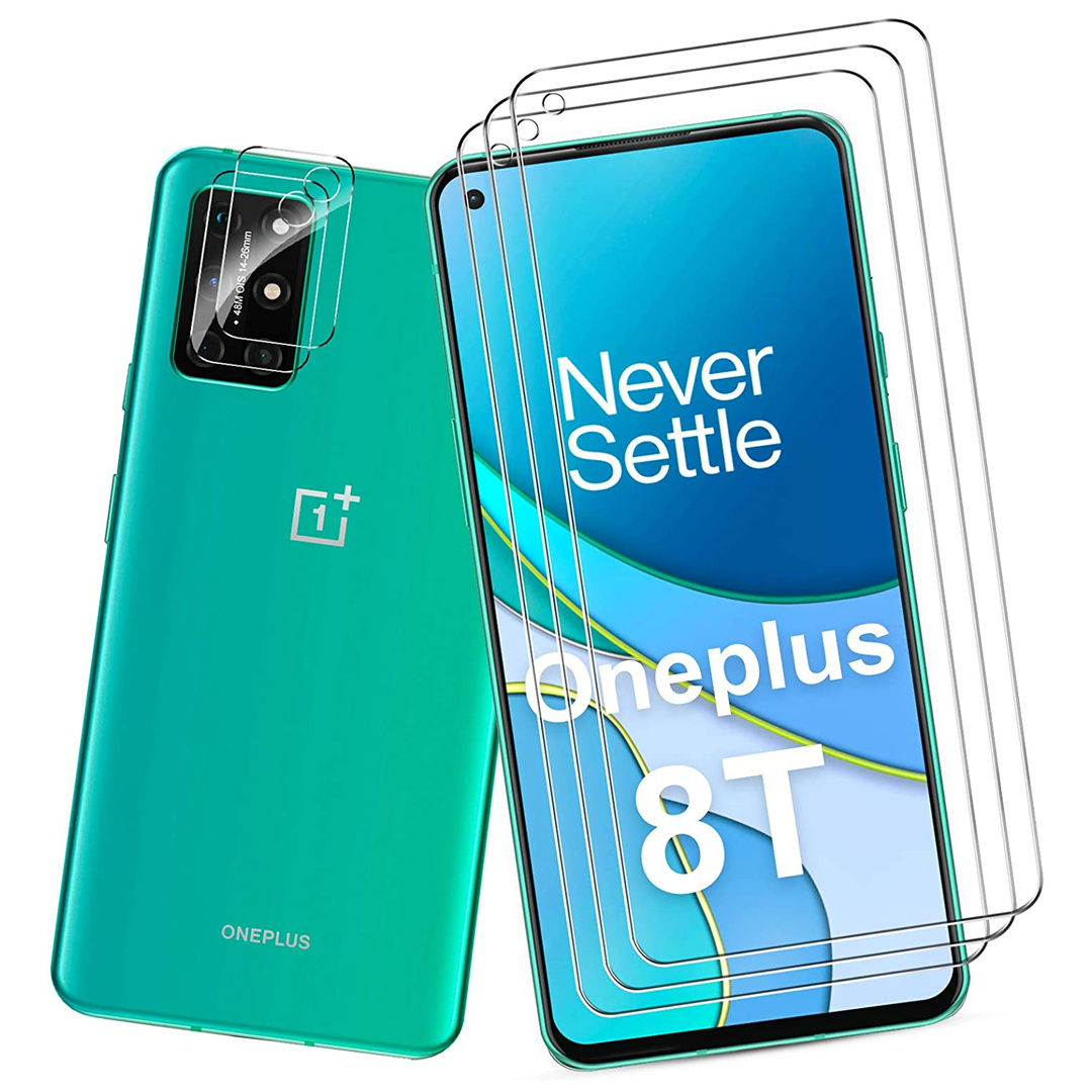 OnePlus 8T QITAYO Screen + Camera Tempered Glass Protector