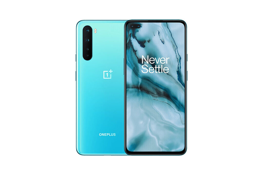 OnePlus Nord front and back