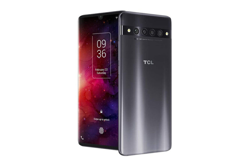 TCL 10 Pro front and back