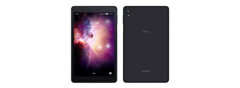 The TCL TAB is a $199 8″ Android tablet available from Verizon
